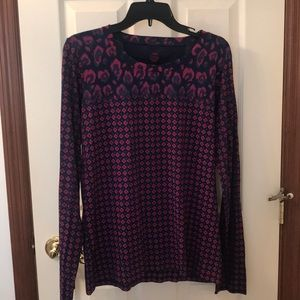 Tory Burch size XL flower top - $25 OBO
